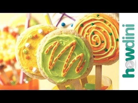 How to Make Sugar Cookies: Lollipop Sugar Cookies