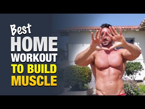 Best Home Workout For Men To Build Muscle: Do This Anywhere To Get Jacked