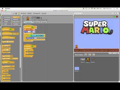 Mario Bros en Scratch   Parte Uno
