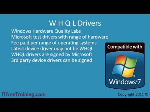 Configure Windows 7 Devices Drivers