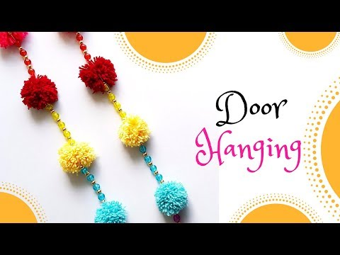 How to make DIY bhandhanwar | Toran | Door Hanging for Diwali - Diwali decoration Ideas!