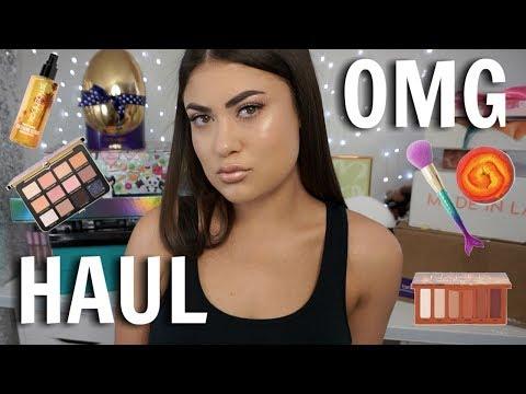 HUGE PR UNBOXING HAUL! New Makeup April 2018