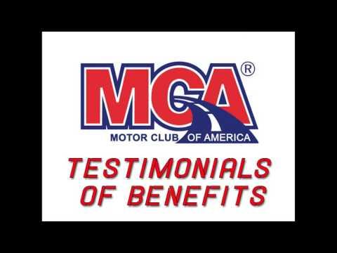 MCA Testimonials of Benefits Motor Club of America