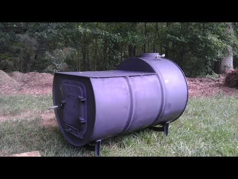 The DIY 55 Gal Cook Top Woodstove | Pt 1