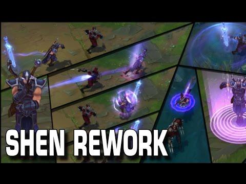 Shen Rework | League of Legends  [Guide/Tutorial] [GER]