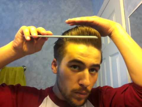 Pompadour: Greaser/Rockabilly hair 2