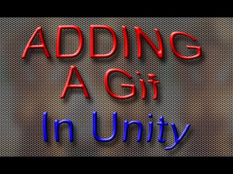How to add a Gif in Unity 3D