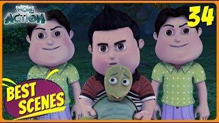 BEST SCENES of VIR THE ROBOT BOY | Animated Series For Kids | #34 | WowKidz Action