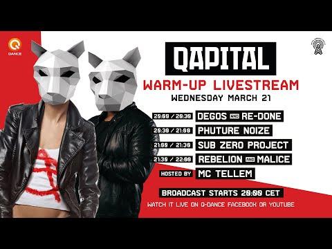 Qapital pre-party: Rebelion & Malice
