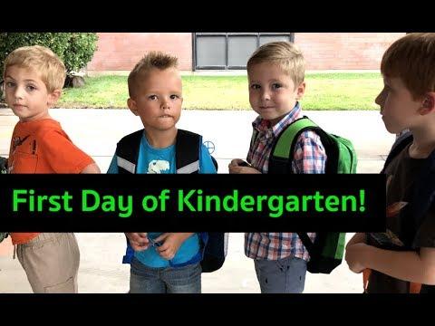 Porter Goes To Kindergarten