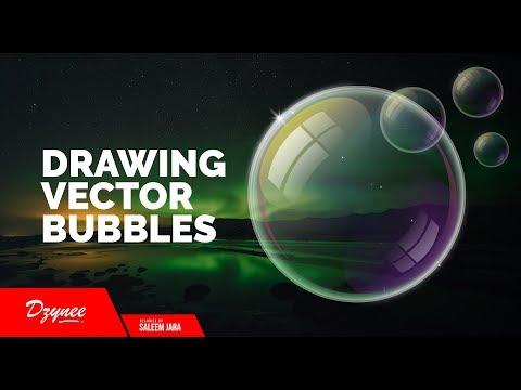 Illustrator Tutorials | Drawing Vector Bubbles
