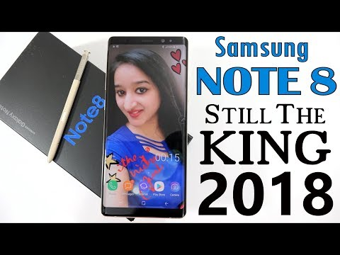 SAMSUNG GALAXY NOTE 8 - UNBOXING & OVERVIEW IN HINDI
