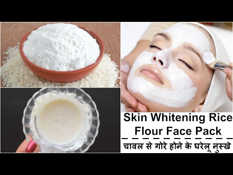 Skin Whitening Rice Flour Face Pack | Get Fair & Glowing Skin Instantly | Fair Skin in 7 Days