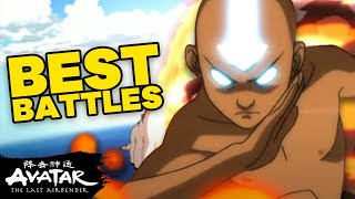 Top 10 Best Battles! 💥 Avatar: The Last Airbender | NickRewind