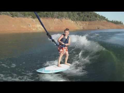 How to Wakesurf 101 - Get the Kid's Wakesurfing