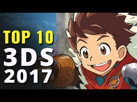 Top 10 Nintendo 3DS Games of 2017 | 3DS Games of the Year