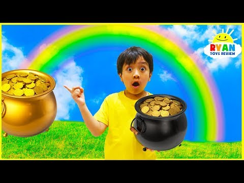 How is a rainbow formed?   Educational Video for kids with Ryan ToysReview