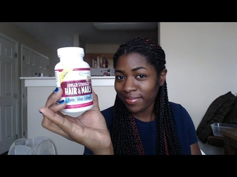 Review Longer Stronger Hair & Nails Vitamins [applied nutrition]