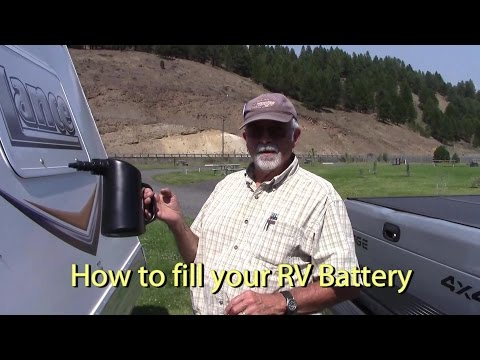 How to Fill Battery Water using a Batter Water Filler