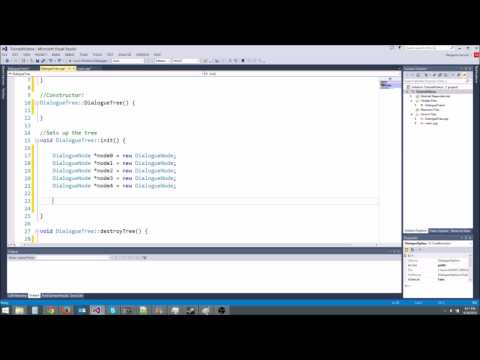 C++/Game Tutorial 28: Dialogue Tree With Pointers!