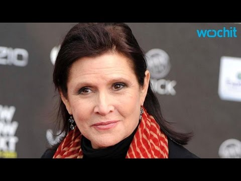Carrie Fisher Talks About the Controversy Over Slave Leia Costume
