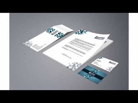 Free Download Business Card Letterhead Envelope Template