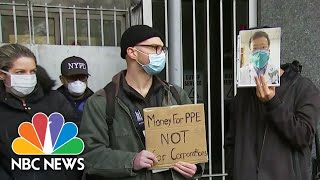 New York City Nurses On Front Lines Say It's A 'Suicide Mission' | NBC Nightly News