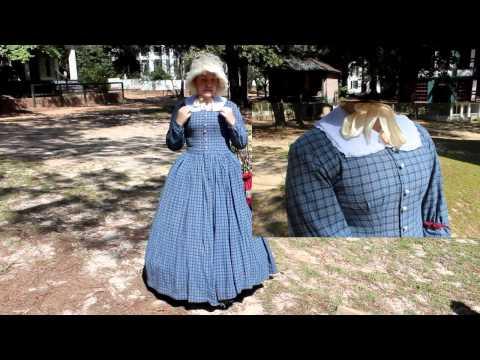 Beautiful Hand Sewn 1850's Dress
