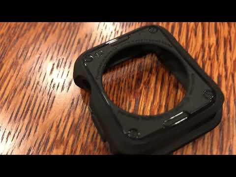 Unboxing a Spigen Apple iWatch Watch Case Cover Protective