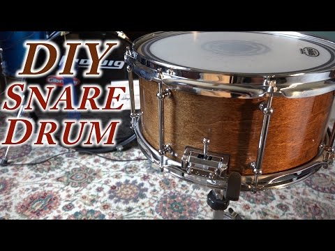 DIY Snare Drum : How To Make A Snare Drum