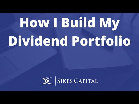 How to build a dividend stock portfolio