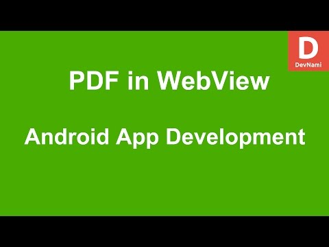 Android Open PDF in WebView