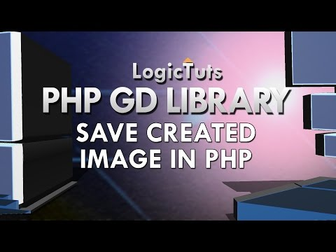Create and Save Images in Php | Gd Library