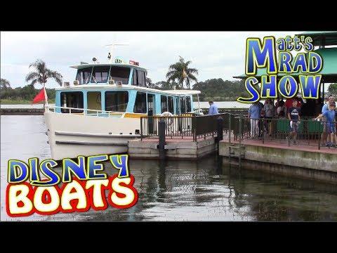 Walt Disney World Ferry Boats - Matt's Rad Show