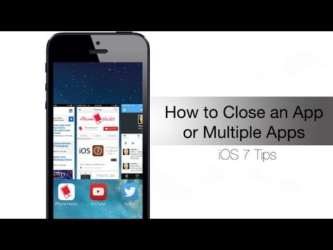How to close an app or multiple apps in iOS 7 - iPhone Hacks