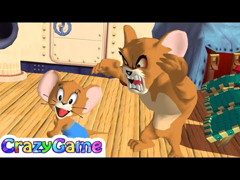Tom and Jerry in War of the Whiskers - Jerry vs Monster Jerry Gameplay | CRAZYGAMINGHUB