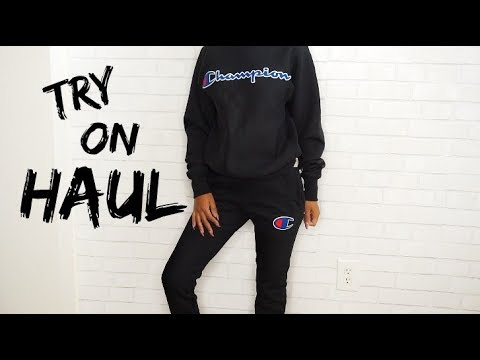 A CASUAL TRY ON HAUL SIS!