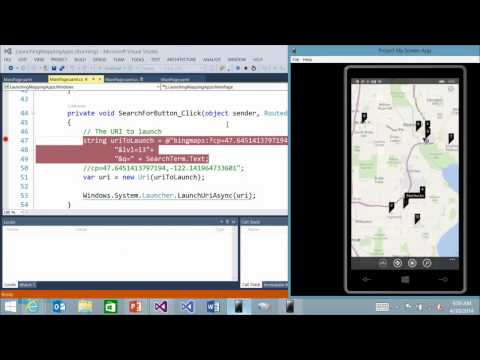 Building Apps for Windows Phone 8.1 Part 11 - 12