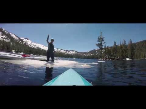 Exploring Echo Lakes on Stand Up Paddle Boards