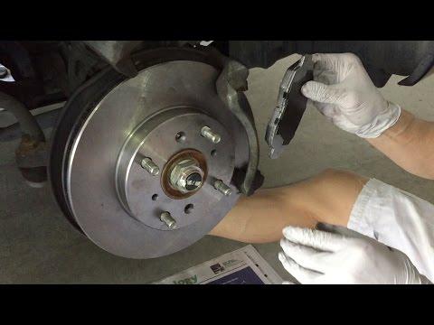 Tutorial: Change 2002 Honda Accord Brake Pads and Rotors