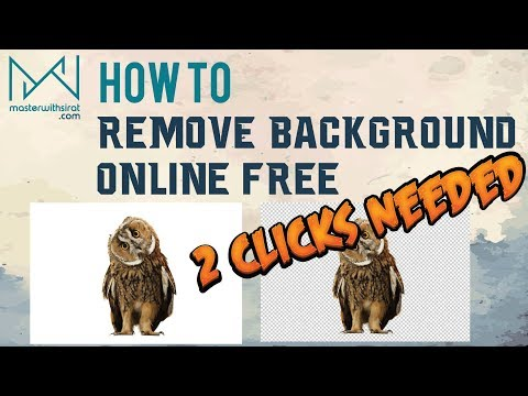 How To Remove Background Online Free | Create a Transparent Image Now