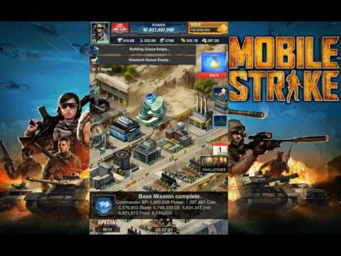 Mobile Strike NEW BATTLE TACTICS RESEARCH WITH 100% RESOURCE COST REDUCTION STATE BOOST!!
