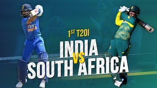 Cricbuzz LIVE: India v South Africa, 1st T20I, Pre-match show