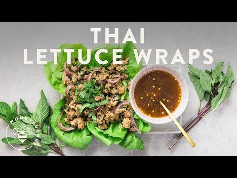 Thai Lettuce Wraps with Turkey - Honeysuckle