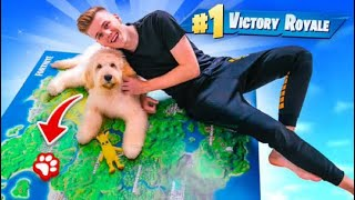 Using A PUPPY To WIN Fortnite Chapter 2!