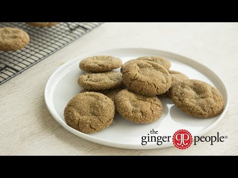 Ultimate Chewy Ginger Snaps: How to Make Delicious Ginger Snap Cookies by The Ginger People®