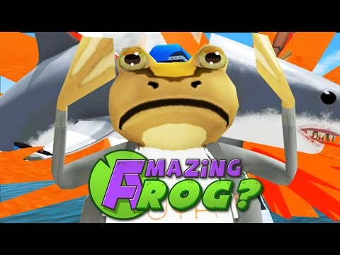 FINALLY KILLED THE GIANT SHARK?! - Amazing Frog - Part 51 | Pungence