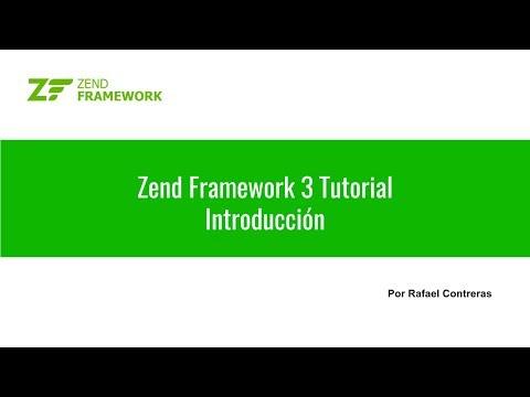 Zend Framework 3 Tutorial: 01 Introducción