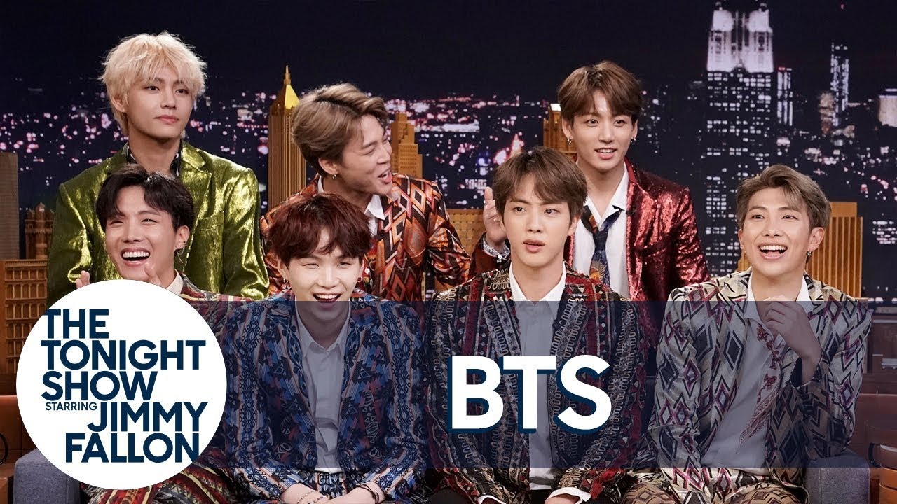 Jimmy Interviews the Biggest Boy Band on the Planet BTS | The Tonight Show
