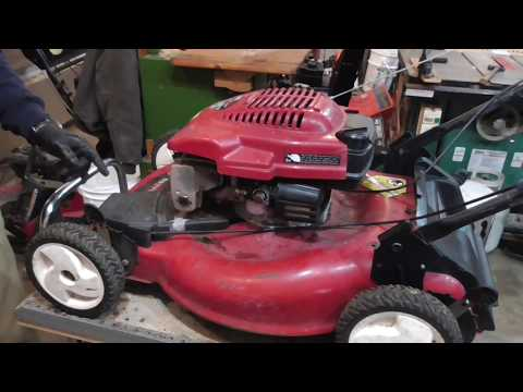 Toro Recycler Fixing Self Propel Transmission For $1.00